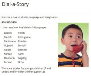 Photo of تورونتو- خدمة جديدة تحكي قصص للأطفال عبر الهاتف بدون تكلفة وب16 لغة