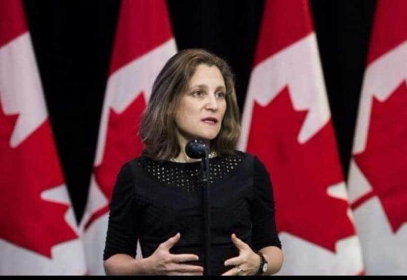 """Photo of وزيرة الخارجية الكندية تتفاوض بشأن """"نافتا"""" جديد"""
