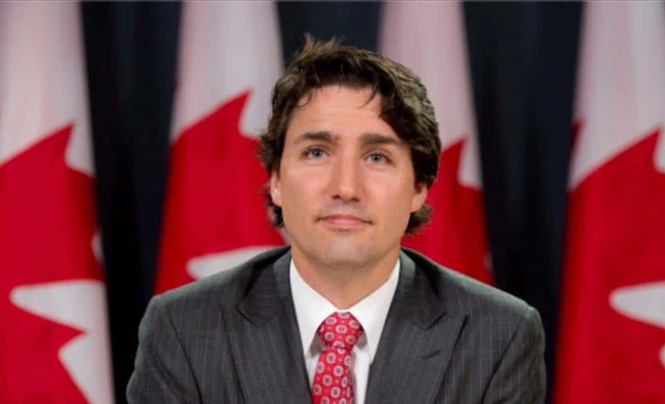 صورة بيان مكتب رئيس الوزراء جاستن ترودو بشأن اتفاقية التجارة الحرة لأمريكا الشمالية