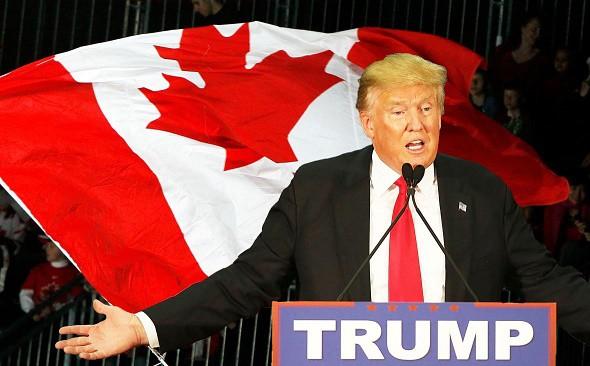 """Photo of ترامب يتهم كندا بـ """"استغلال"""" الولايات المتحدة"""