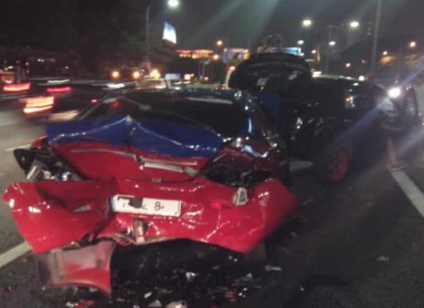 Photo of خمسة مصابين في حادث سير بسبب تهور سائق يافع في هاميلتون