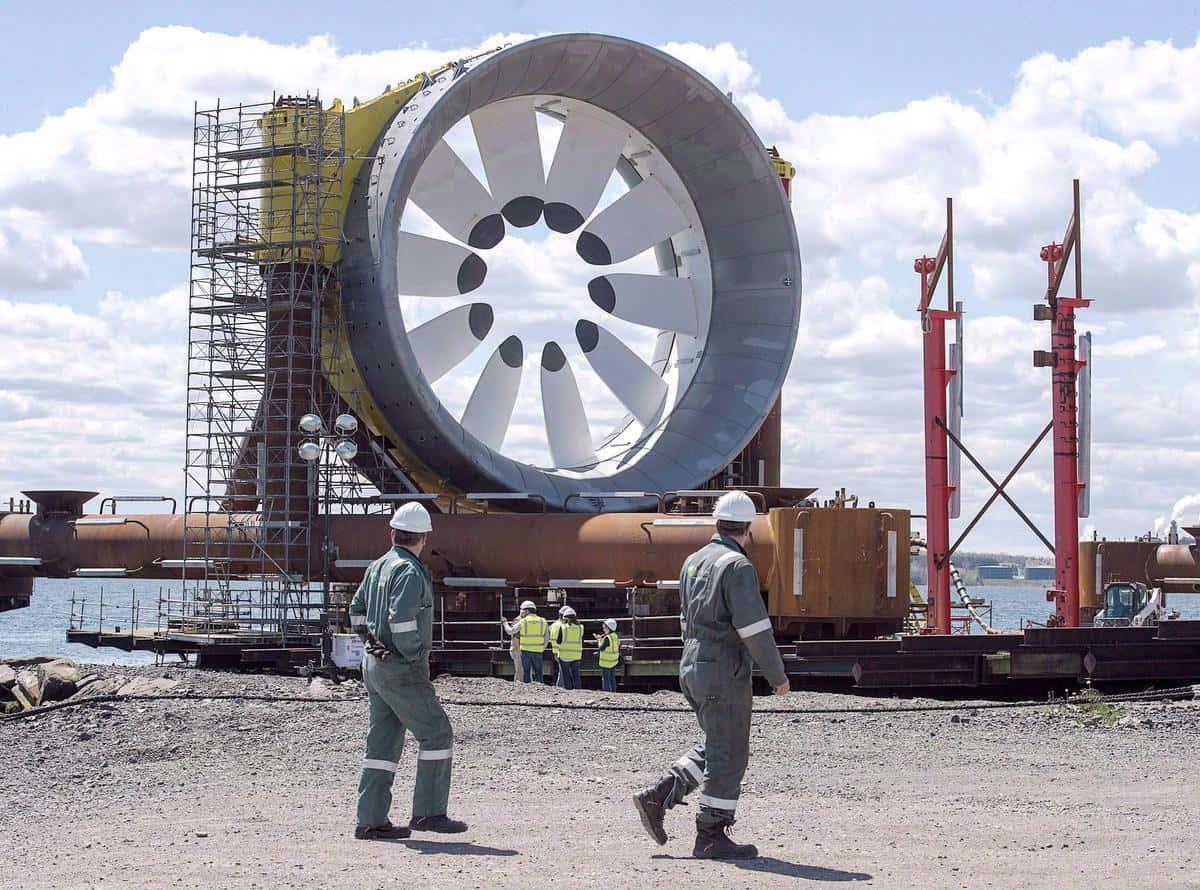 صورة أوتاوا تلزم بمبلغ 30 مليون دولار لمشروع الطاقة الجديدة في خليج Fundy