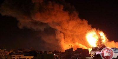 صورة بالفيديو ـ عدوان #إسرائيلي متواصل على #غزة