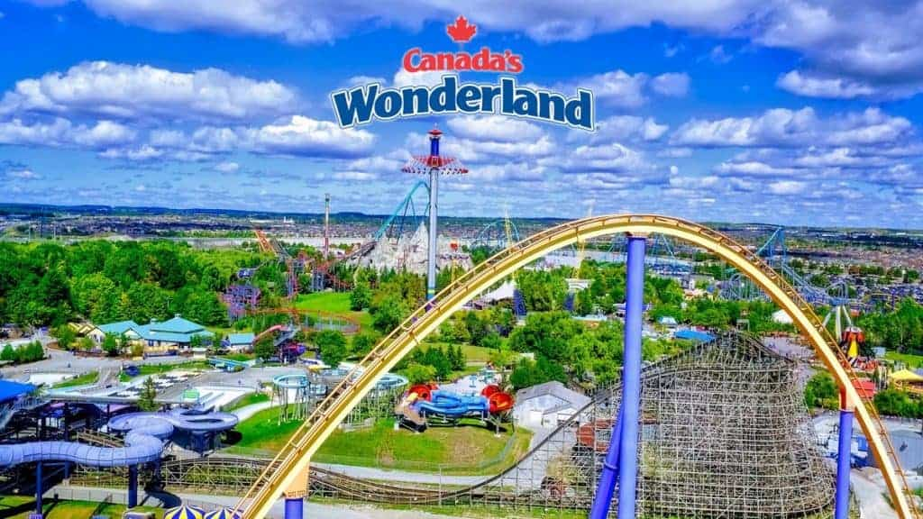 Photo of #منتزه #كندا #وندر_لاندCanada's Wonderland#