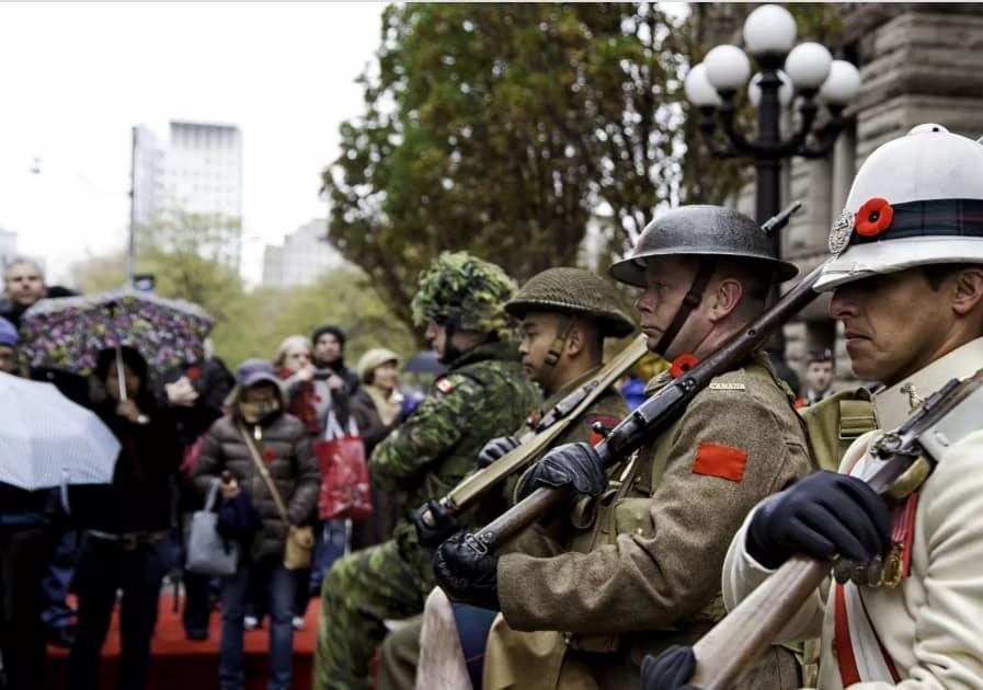 Photo of #الذكرى المئوية لـ #يوم_الهدنة في #كندا