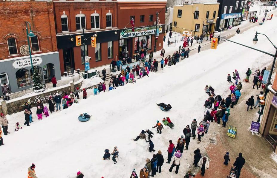 Photo of #مهرجان الثلج والنار في #أونتاريو يعود الشهر المقبل