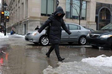 Photo of #أمطار جليدية في #كيبيك مساء اليوم