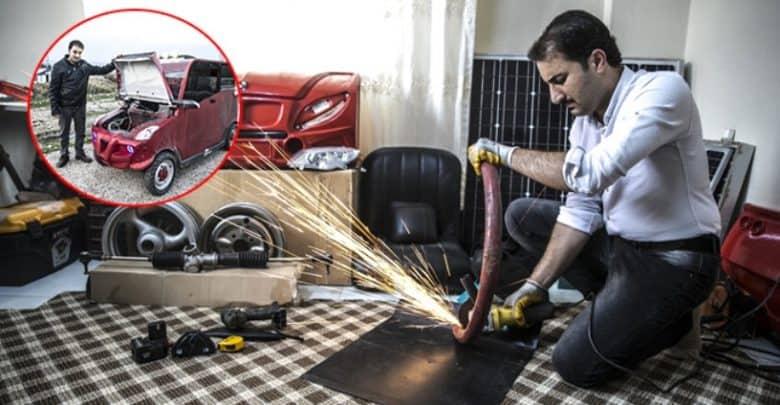 Photo of #تركيا ـ مهندس #سوري نجح بتصميم #سيارة فريدة من نوعها
