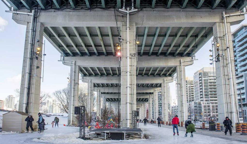 Photo of أكبر درب لـ #التزلج وسط مدينة #تورونتو
