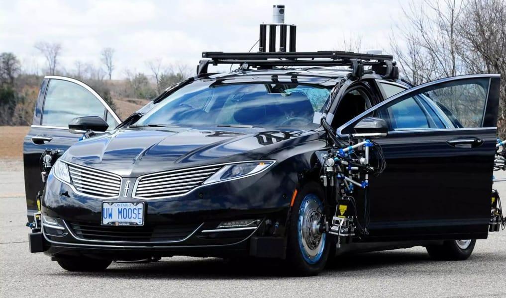 صورة #السيارات ذاتية القيادة الآن في شوارع #أونتاريو
