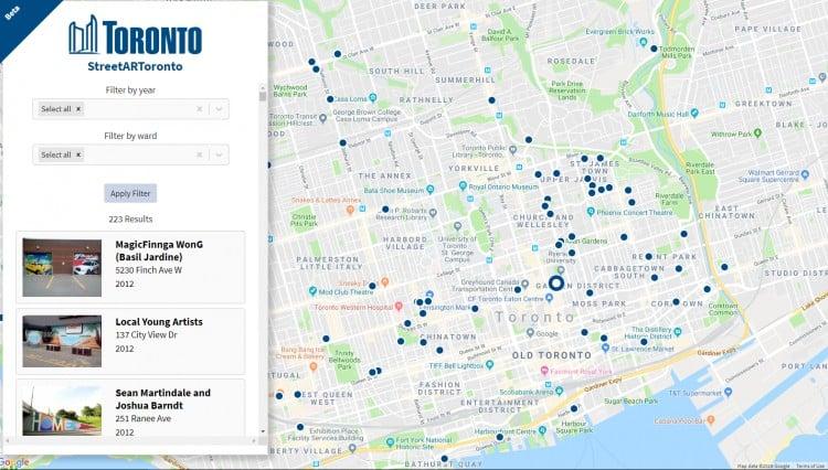 Photo of مدينة #تورنتو تطلق #خريطة لفن #الشارع للسكان المحليين والزوار