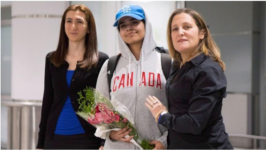 Photo of مراهقة سعودية تُمنح #اللجوء في #كندا