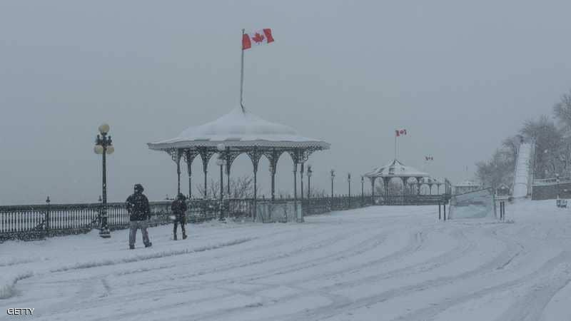 Photo of #عاصفة عاتية تجتاح #كندا