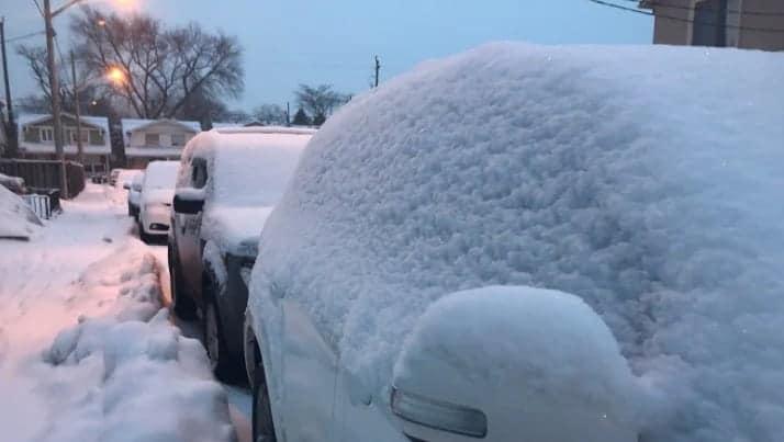 Photo of #تحذير ـ  #الطقس البارد الشديد لـ #تورونتو بعد تساقط #الثلوج في الصباح
