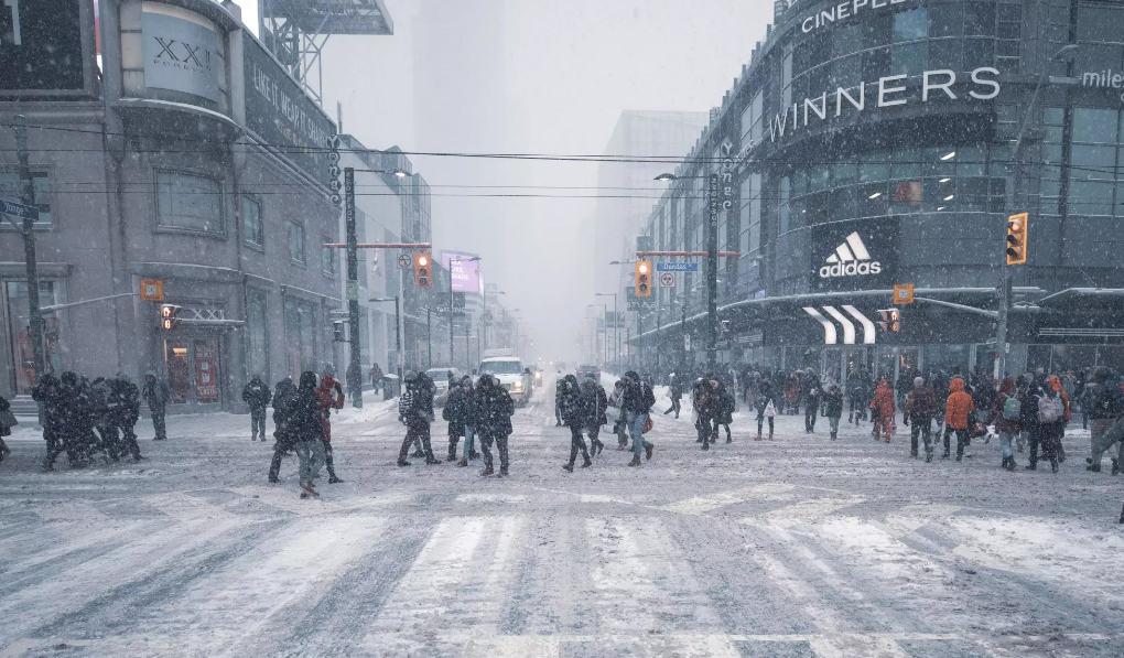 Photo of التحذير من تساقط #الثلوج ساري المفعول لـ #تورنتو اليوم