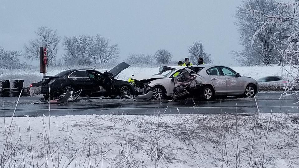 حادث سير في ميسيساغا