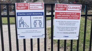 Photo of تتخذ مدينة تورونتو مزيدًا من الإجراءات ضد السكان الذين يواصلون استخدام الملاعب وطاولات النزهة