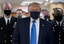 Photo of ترامب يظهر ولأول مرة على الملأ مرتدياً قناعاً واقياً منذ بداية الجائحة