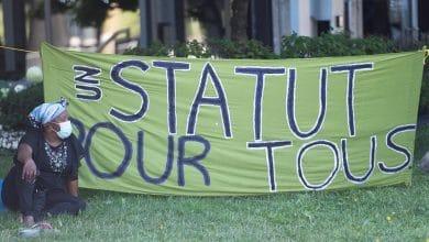 """Photo of """"شهر آب سيكون محورياً""""، هذا ما تقوله الحركة التي تسعى للحصول على وضع لطالبي اللجوء الذين تم توظيفهم في وظائف أساسية."""