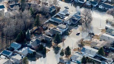 صورة ارتفاع تكاليف الأضرار المؤمن عليها إلى 522 مليون دولار لفيضان الربيع في فورت ماكموري.
