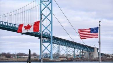 صورة من المحتمل أن تبقى الحدود الكندية الأميريكية مغلقة حتى الصيف المقبل
