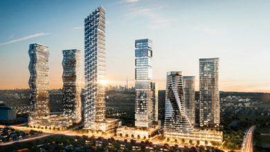 صورة المدينة تضع حجر الأساس لما سيصبح أطول مبنى في مسيساجا