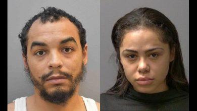صورة القبض على شقيق وشقيقته في تحقيق متعلق بالاتجار بالبشر في ميسيساجا
